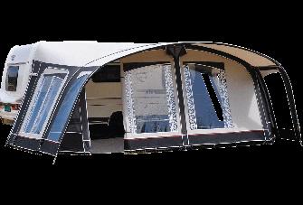 Vorzelt Unico Turijn 320 - Taupe/Mid Grey